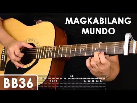 Magkabilang Mundo - Jireh Lim Guitar Tutorial (includes chords, strumming, adlib - solo lesson)