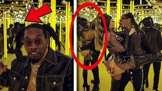 "10 Secrets You Missed In ""Offset - Clout ft Cardi B"""