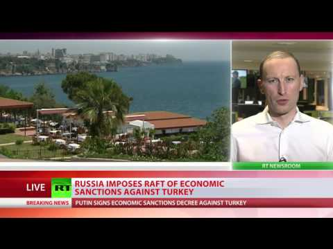 Putin approves economic sanctions on Turkey