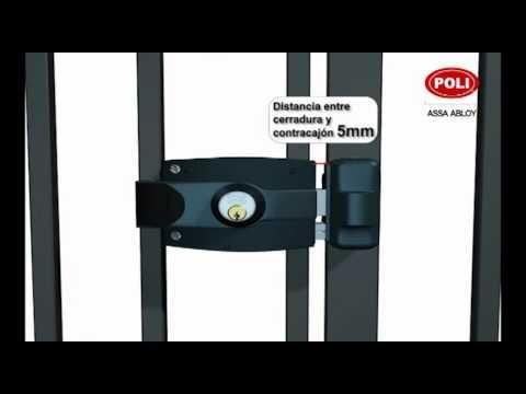 Video 5 instalaci n cerradura electrica youtube - Cerrojos de seguridad para puertas ...