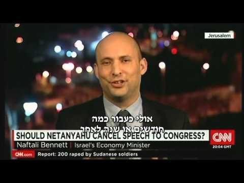 """בנט ב-CNN יוצא להגנת נתניהו ונאומו: """"ישראל לא תשתוק שוב מול איום קיומי לעמנו"""""""