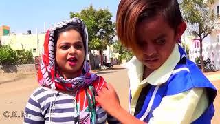 "Desi Chhotu English Mem ""Part 1,2,3,4""छोटू की नयू LOVE STORY   Khandeshi Comedy Video"