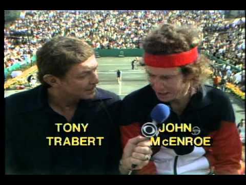 21 year old John McEnroe Interview