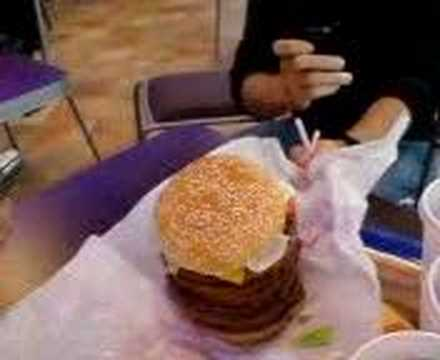 triple whopper with cheese. ORdering a Whopper with 10