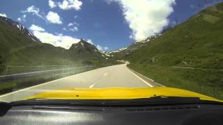 mx5 from airlo up to nufenen pass