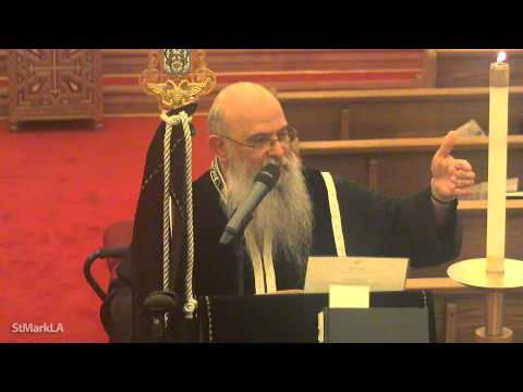 The Best Week of the Year (Arabic Sermon) - Fr. Shenouda Ghattas