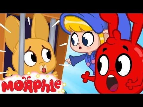 Easter Bunny In JAIL - My Magic Pet Morphle | Cartoons For Kids | Morphle TV | BRAND NEW