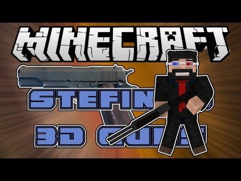 Minecraft Mods : Stefinus 3D Guns [1.6.2] [Forge]