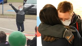 Man With Down Syndrome Hugs Friends After Heart Transplant