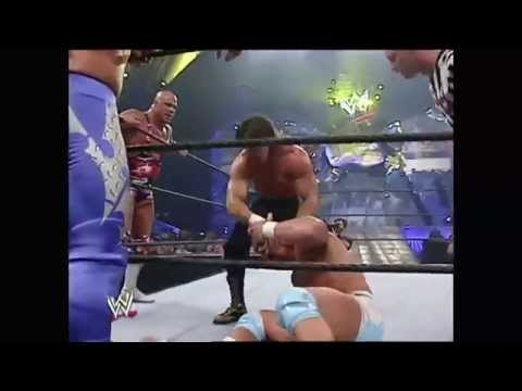 John Cena, Edge & Rey Mysterio Vs Eddie Guerrero, Kurt Angle & Chris Benoit video
