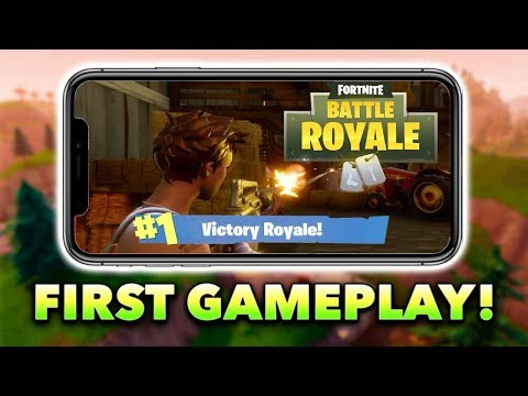 Fortnite Mobile LIVE! (First Look Ultra Graphics)