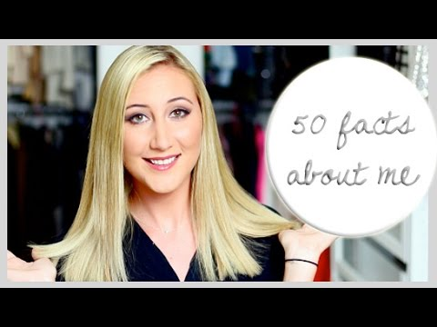 I'm Different Than I Was + I'm Afraid Of WHAT? | 50 Facts About Me