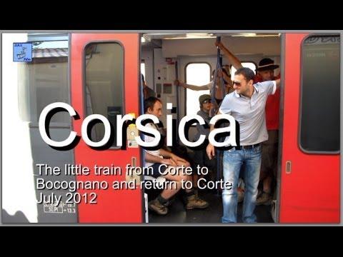 Corsica train - Corte to Bocognano