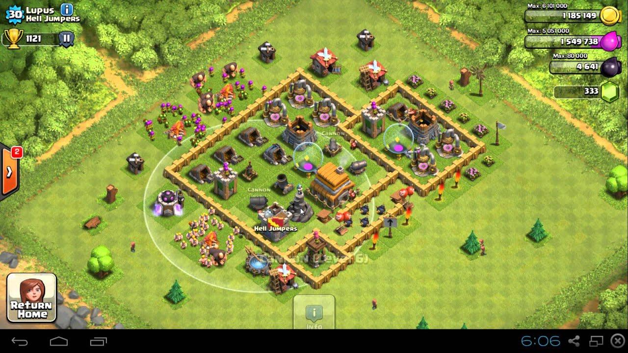 Clash of clans как построит новую обстановку базы в 6th - Clash Картинки
