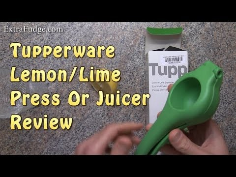 Tupperware Lemon Lime Press or Juicer Review
