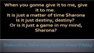 My sharona-The Knack-Lyrics