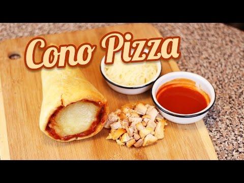 CONO-PIZZA | RECETA FACIL PARA HACER PIZZA | MUSAS