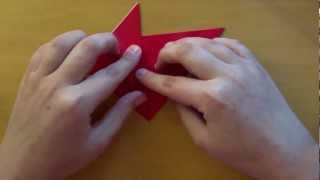 Origami Rocket Ship  (perry Bailey) - Tutorial
