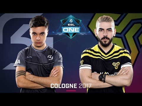 CS:GO - SK vs. Space Soldiers [Cache] - Swiss Round 1 - ESL One Cologne 2017