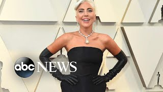 Lady Gaga is about to hit the red carpet at Sunday's Academy Awards | GMA Digital