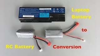 How to convert a Laptop Battery into an RC Car Battery Pack