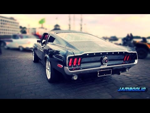 "BULLITT!! 1968 Ford Mustang GT-390 Fastback ""Bullitt"" - incredible V8 sound!!"