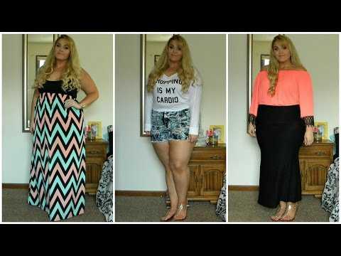 The Curvy Diaries: Summer Lookbook | Plus-Size High-Waisted Shorts & More (ft. PinkClubwear)