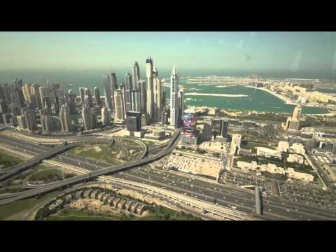 A little taste of Dubai real estate on my tour with Coldwell Banker Dubai.