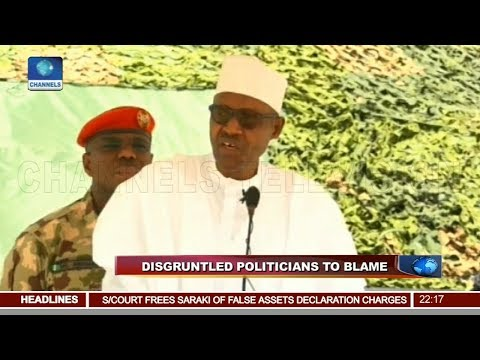 National Security: President Buhari Re-commits To Anti-Corruption Fight