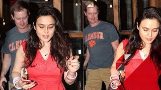 Preity Zinta & Gene Goodenough's Dinner Date | Bollywood News