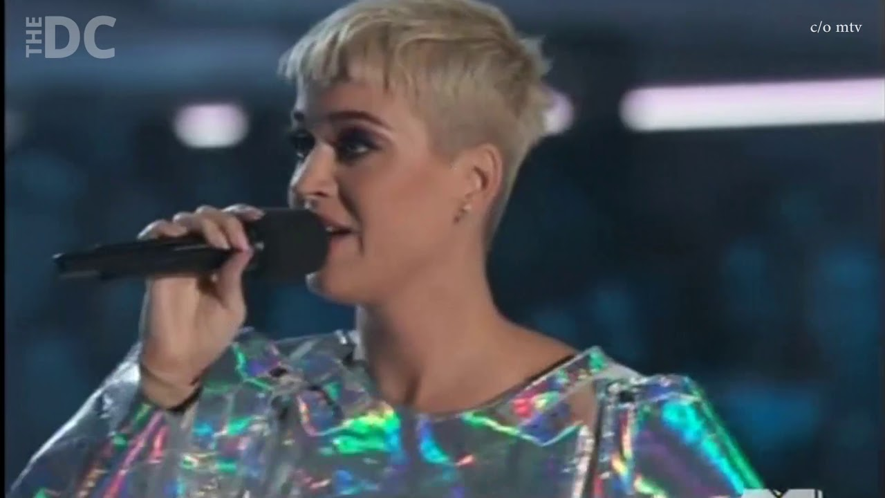Katy Perry Rants About State of America At VMA's