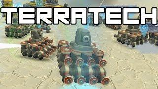 Terra Tech - Artificial Intelligence Terra Tech Army! - TerraTech Gameplay