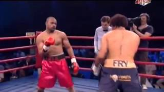 Roy Jones Jr vs Courtney Fry 26 07 2014