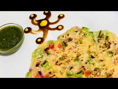 सूजी की चीला- INSTANT RAVA CHILLA | SUJI KA CHEELA | RAWA CHEELA RECIPE | Healthy Breakfast Recipe
