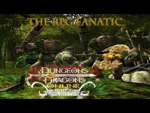 RPG Fanatic: Dungeons and Dragons Online Video Game Review (Free to play MMORPG)