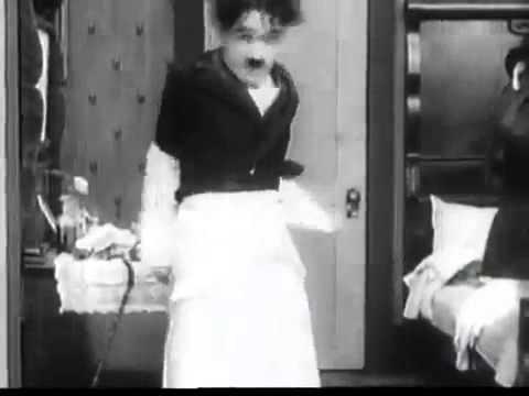 Чарли Чаплин   Детские автомобильные гонки, юмор