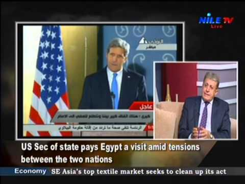 KERRY IN CAIRO: US-EGYPT RELATIONS, NILE TV, ENGLISH, 3 NOV 2013