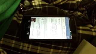 Android 4.0搭載のスマートフォン(F-04E)をワンキーマウスで操作してみた