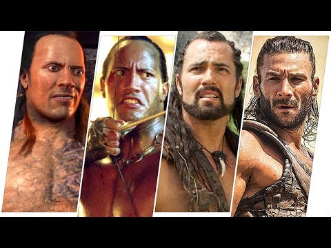 The Scorpion King Evolution in Movies.