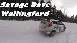 SHORT: Savage Dave Wallingford and Team O'Neil at Rallye Perce Neige