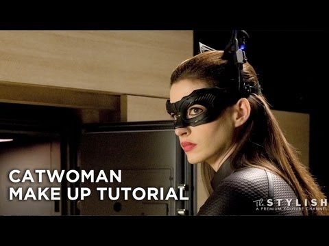 Catwoman Halloween Make Up Tutorial