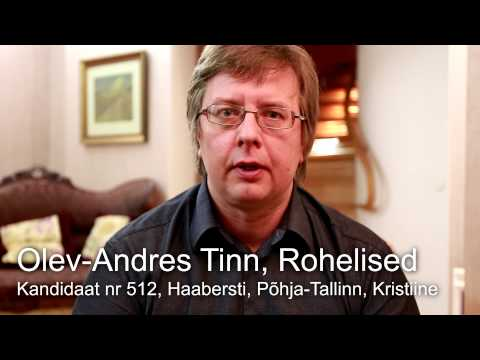 Olev-Andres Tinn (Eestimaa Rohelised) kanepi teemal