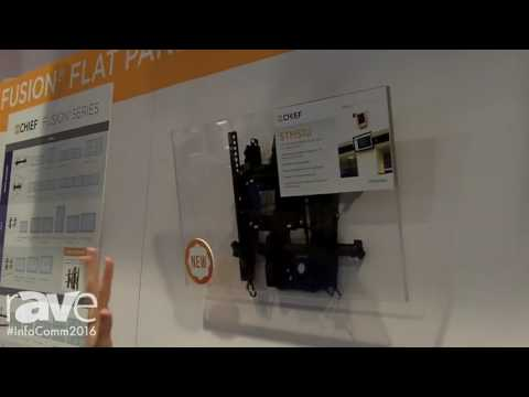 InfoComm 2016: Chief Introduces Small Tilt Mounts, an Expansion to Its Fusion Series
