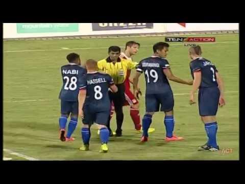Hero I-League 2015 Pune FC (1) vs Kalyani Bharat FC (1) 04-4-2015