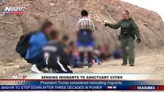 MIGRANTS TO SANCTUARY CITIES: President Trump's Plan For Illegal Immigration
