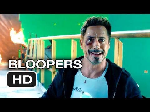 Iron Man 3 Bloopers (2013) - Robert Downey Jr., Gwyneth Paltrow, Don Cheadle Movie HD