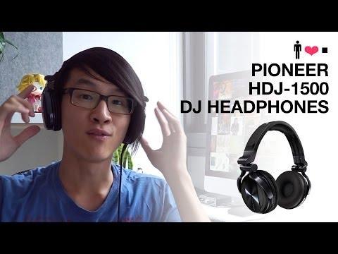 Pioneer HDJ-1500 DJ Headphone Review
