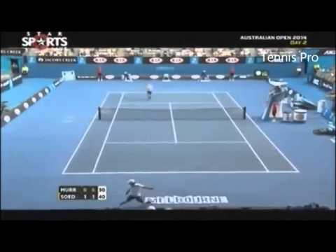Andy Murray vs Go Soeda - Highlights - Australian Open 2014