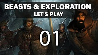 Let's Play Battle Brothers - Episode 1 (Beasts & Exploration DLC)