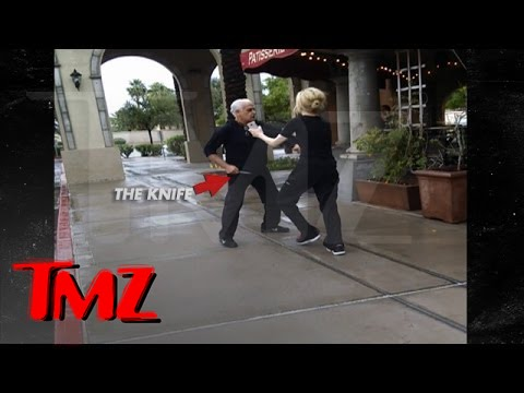 'Kitchen Nightmares' Star -- Threatens to Kill Restaurant Patron ... WITH A KNIFE...